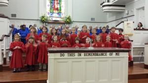 2015 January Joyful Noise Choir