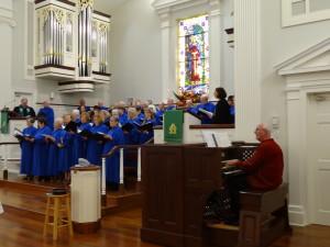 Choir and David