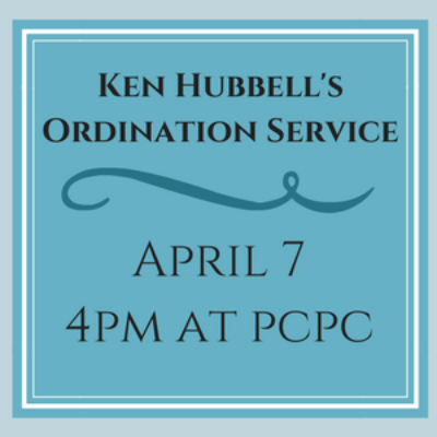 Kenny Hubbell's Ordination