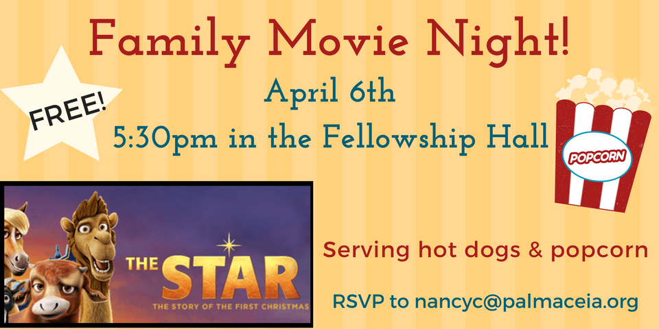Family Movie Night at PCPC