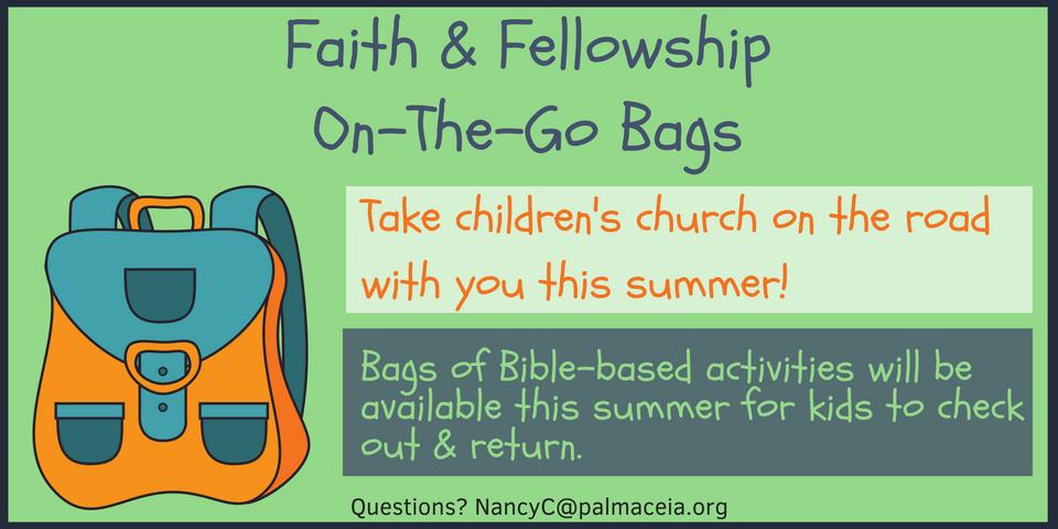 Faith & Fellowship Hour On-The-Go Bags