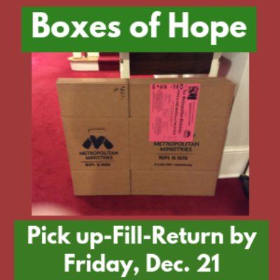 Box of Hope 2018